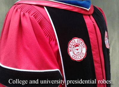 Keene State College Presidential Robe by University Cap & Gown