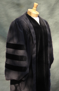 Classic Doctoral Outfit from University Cap & Gown