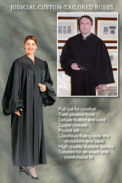 Quality and Affordable Judicial Robes by University Cap & Gown