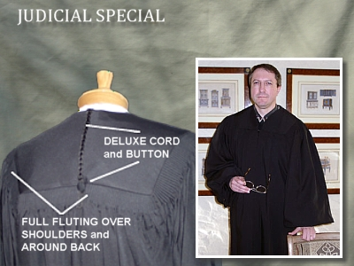 Judicial Special - Quality Robes for the Legal Profession from University Cap & Gown