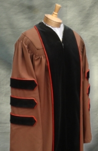 Brown University Doctoral Outfit from University Cap & Gown