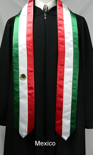International Stoles & Sashes from University Cap & Gown